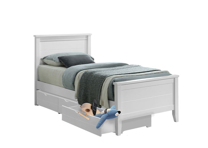 Casey bed with 3 drawers